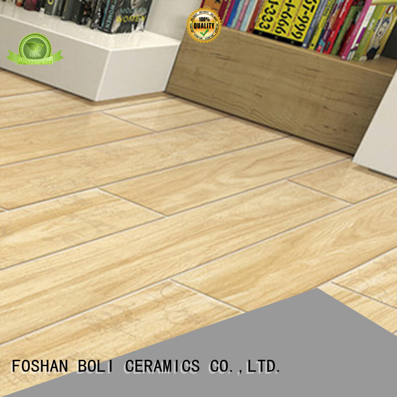 BOLI CERAMICS look wood grain tile for wholesale for living room