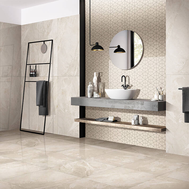 Breccia stone beige marble floor polish 600x1200 1