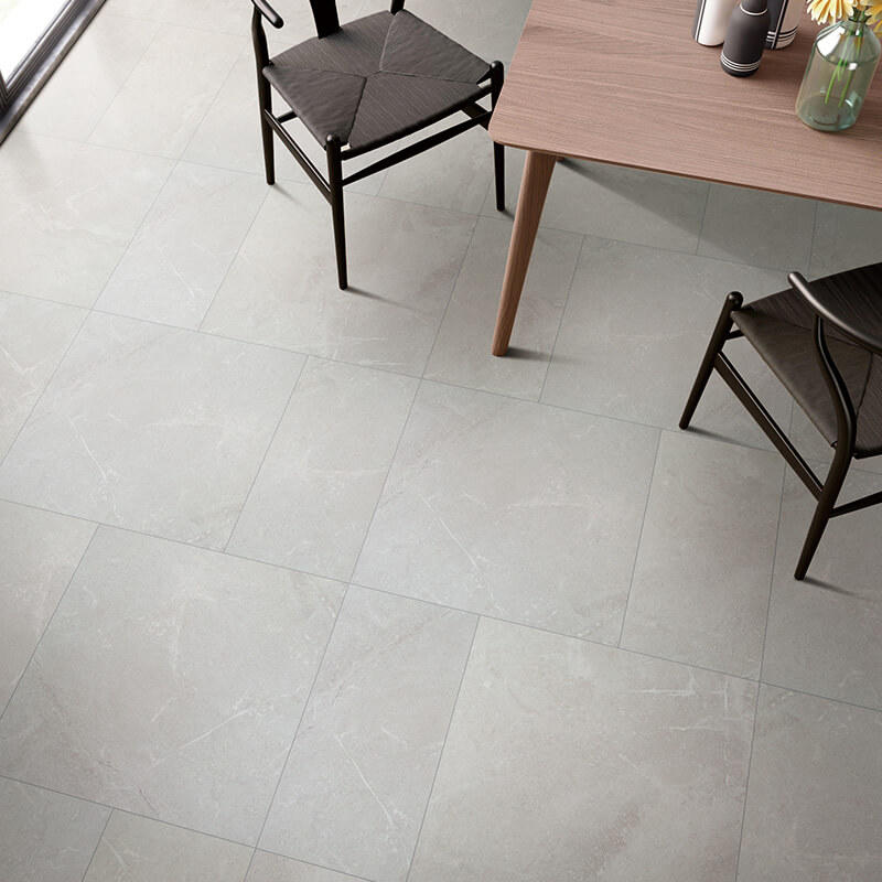 Modern antique burning stone procelain tile stone look home floor 600x600mm non-slip tile
