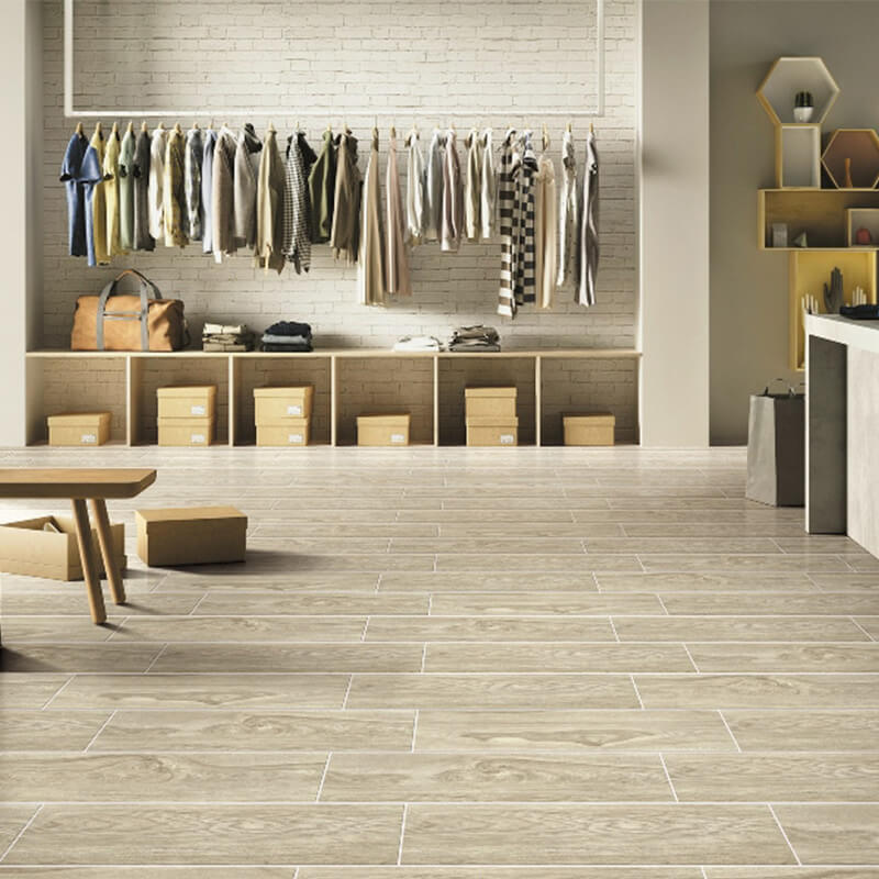 F320381 Morandi spring wood look porcelain tile