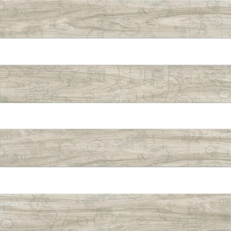 F320806H Morandi maple wood porcelain tile