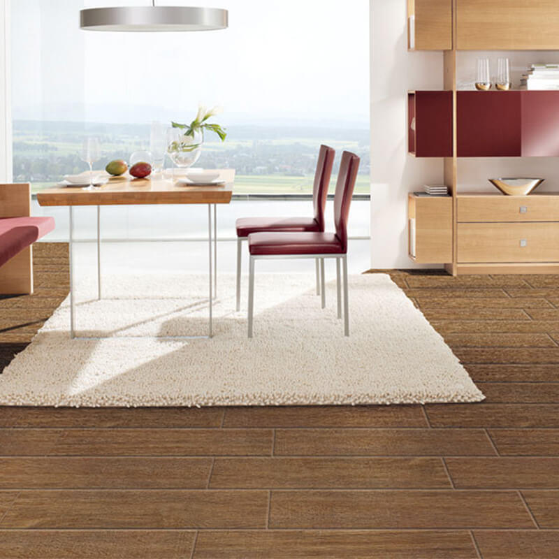 F320093F Morandi royal teak wood porcelain tile