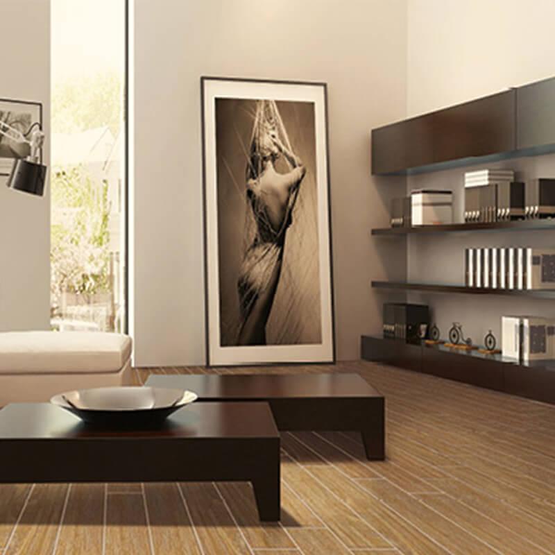 F320096F Morandi royal teak wood porcelain tile