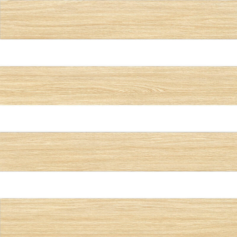F3200281 Morandi gold silk Oak wood porcelian tile