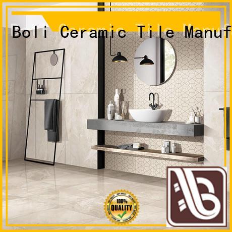 BOLI CERAMICS lasting fashion 600x600marble Floor Tile free sample for bathroom