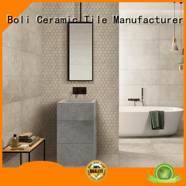 non-absorbent Modern Floor Tile New Collection 24x24 best price for bathroom