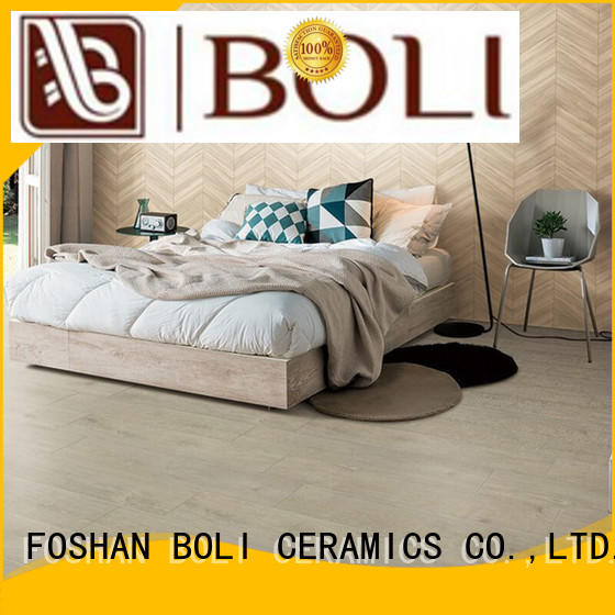 BOLI CERAMICS look grey wood look tile best quality for exterio wall