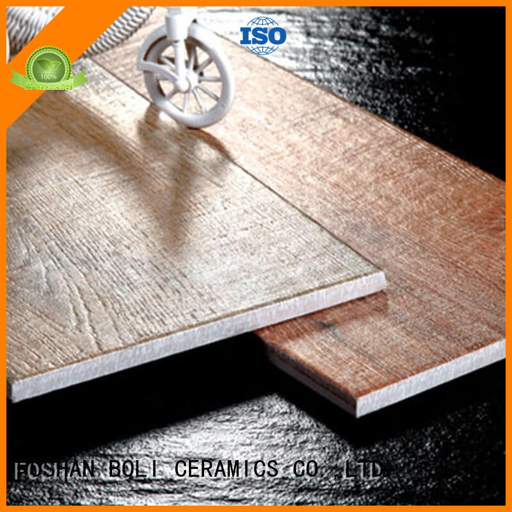 BOLI CERAMICS elegant porcelain wood look flooring in china for bathroom