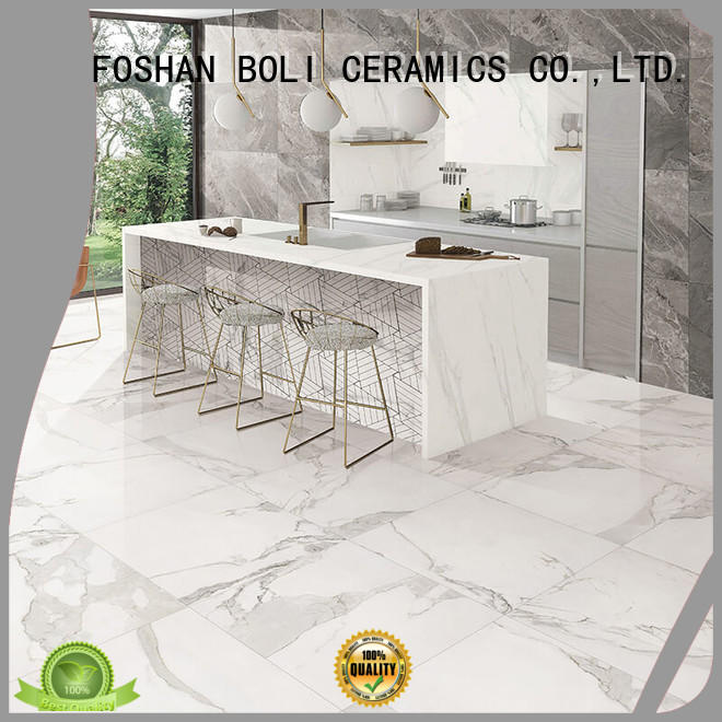 BOLI CERAMICS warm 600x600marble Floor Tile best price for relax zone