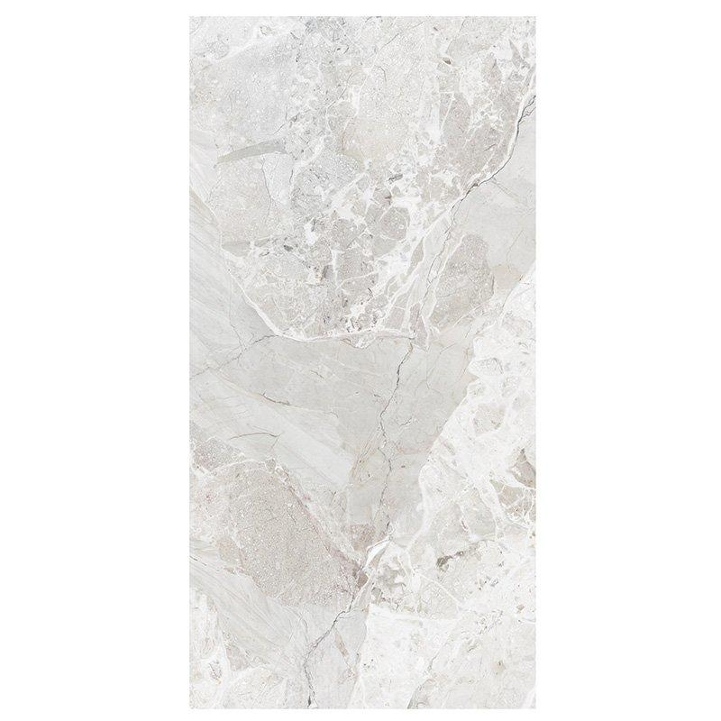 Breccia stone light grey marble floor tile 24x48 polished porcelain tile  Breccia stone light grey FP8126B02