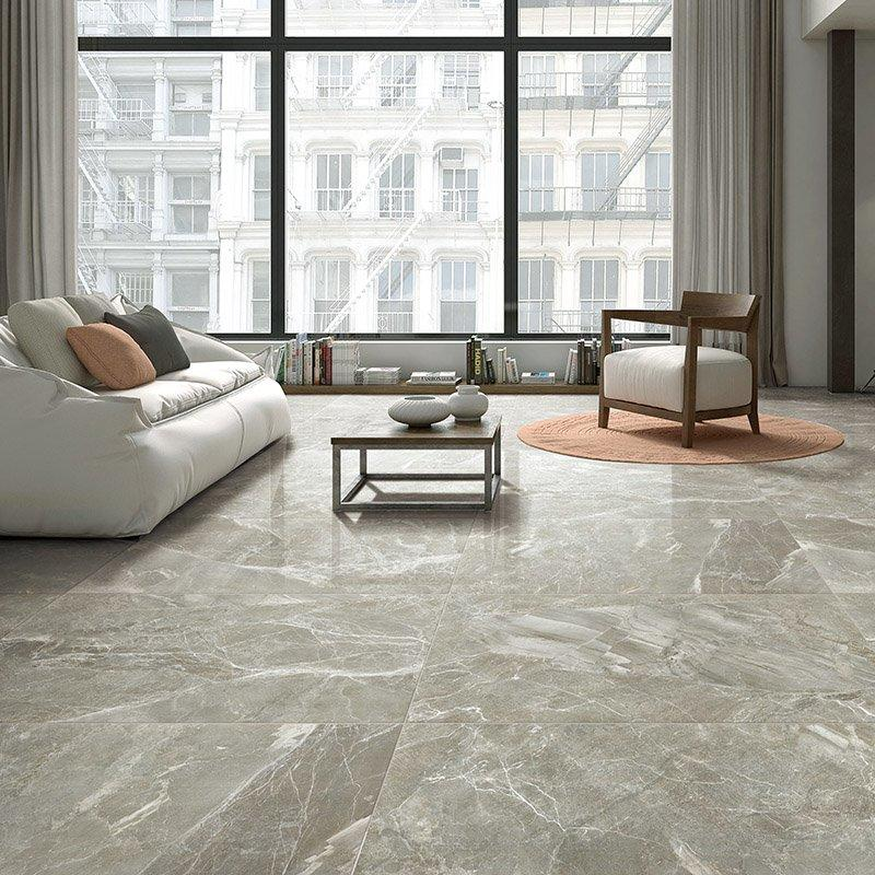 Copper donamita light grey Rare 600x1200 marble look porcelain tile and wall tile  Copper donamita grey  FP8126B17