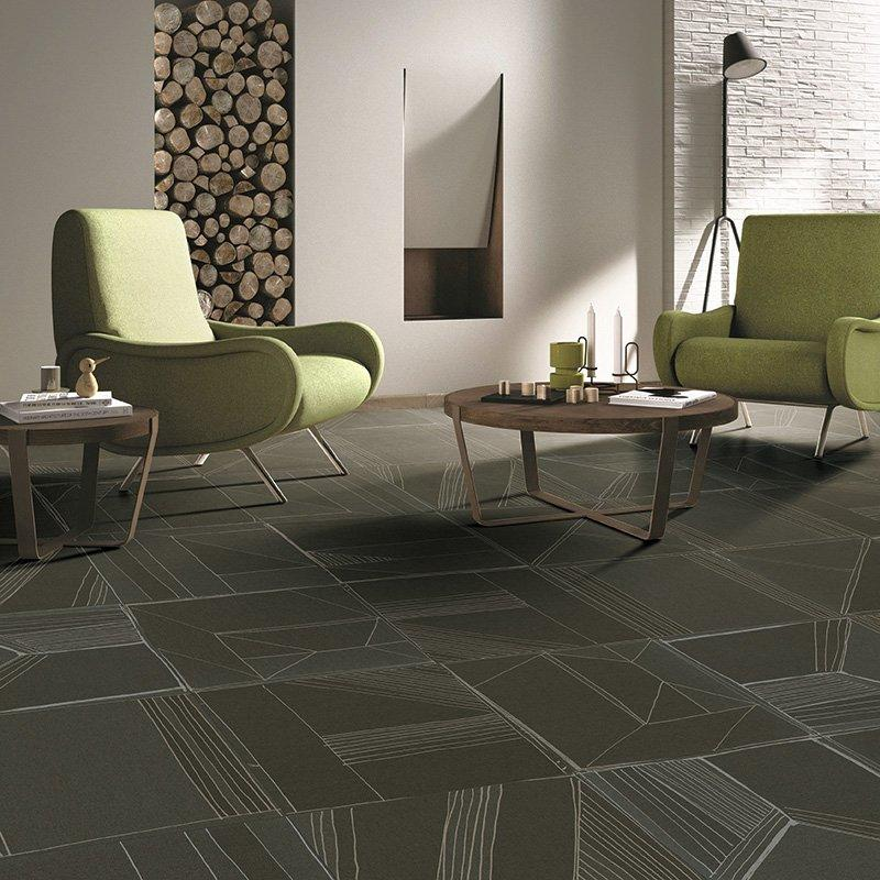 Seattle kahki  color linen look tile for basement  24x24 Linen Look Tile Seattle kahki  color F60220