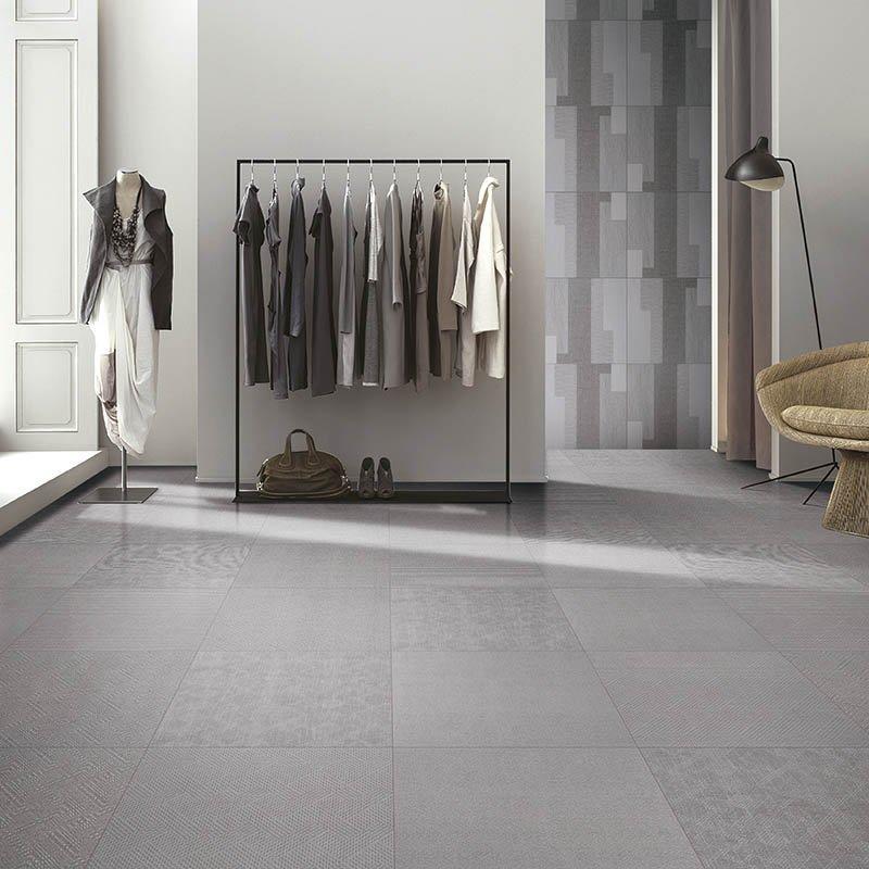 Plato light grey color carpet tiles for play room linen look tile plato light grey color F60291