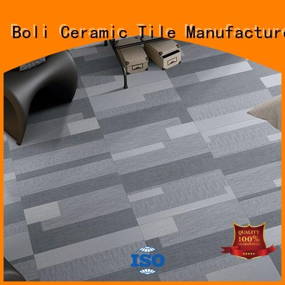 non-absorbent linen floor tile f60291 for wholesale for living room