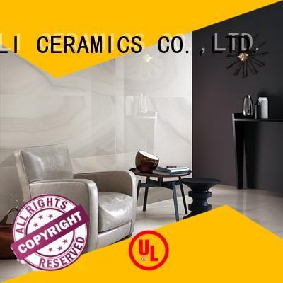 flooring black marble tile porcelain look BOLI CERAMICS Brand