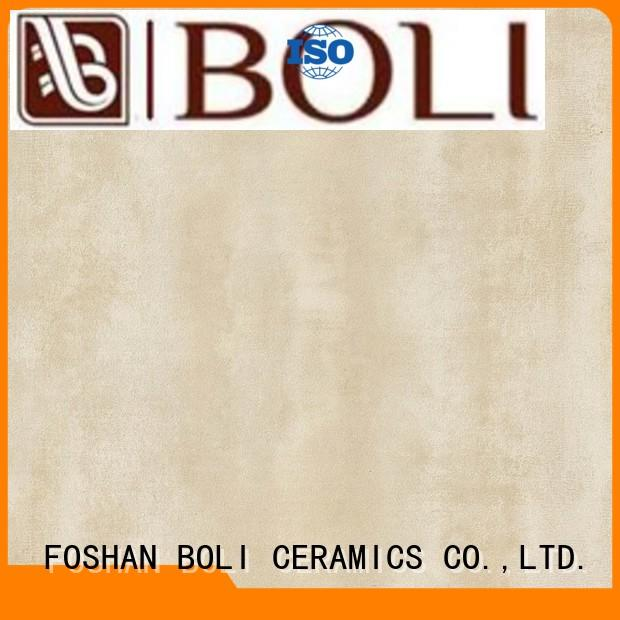 BOLI CERAMICS easy to clean polished concrete tiles best price for garden