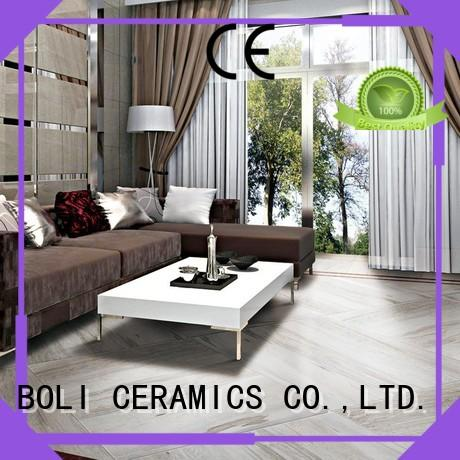 BOLI CERAMICS superior wood grain tile free sample for relax zone