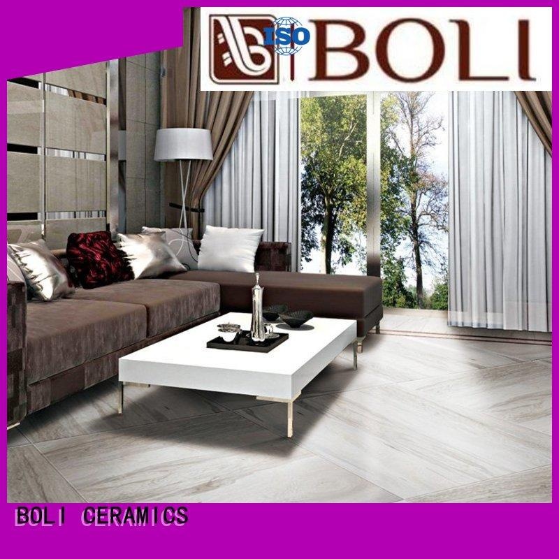 acid resistant porcelain wood look flooring tile in china for exterio wall
