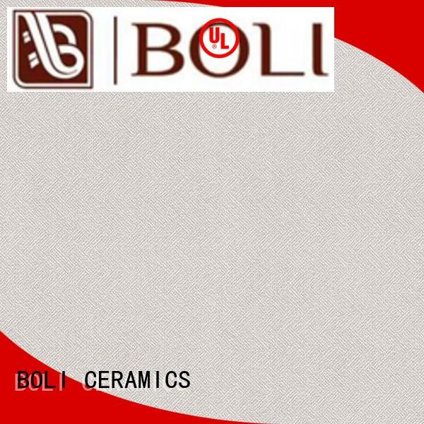BOLI CERAMICS elegant fabric look tile free sample for play room
