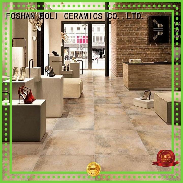 BOLI CERAMICS concrete effect tiles free sample for indoor anti space