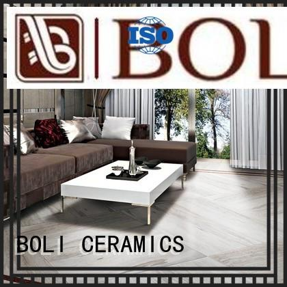 BOLI CERAMICS look porcelain wood look flooring in china for kitchen