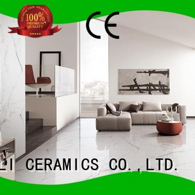 BOLI CERAMICS luxury Marble Floor Tile for toilet