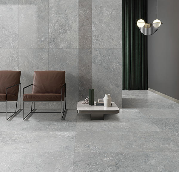CFL12691 Large Slab Hot Sales 1200x600mm Grey color Porcelain Floor Tile