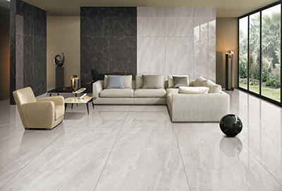 CFPKY15210A Modern Porcelain Tile 30 X 60 cm Polished Grip SurfaceLight grey  Color Optional Cement Look Porcelain Tile