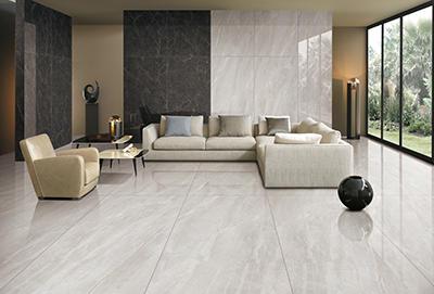 CFPKY15210A Modern Porcelain Tile 30 X 60 cm Polished Grip SurfaceLight grey  Color Optional Cement Look Porcelain Tile