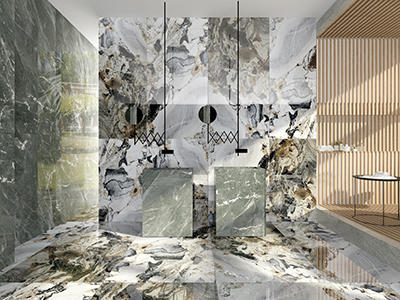 CFP818903 Big Size 900x1800 Marble Look Calacatta Tile Indoor Porcelain Tiles What Is The Difference In Porcelain