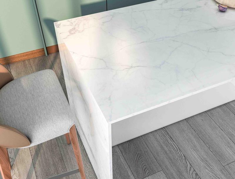 SH6008 Newest Arrivals Big Size 800x2600mm Italian Carrara White Design Full Body Polished Porcelain Marble Floor Tiles