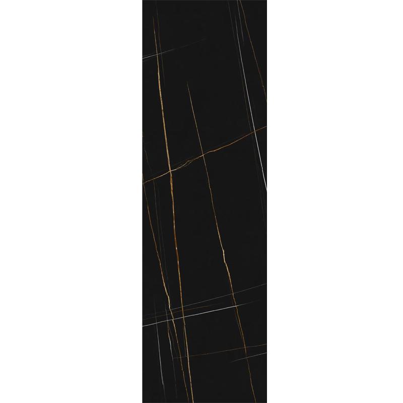 800*2600mm Living Room Large Size Tile Black Ceramic Floor Tile