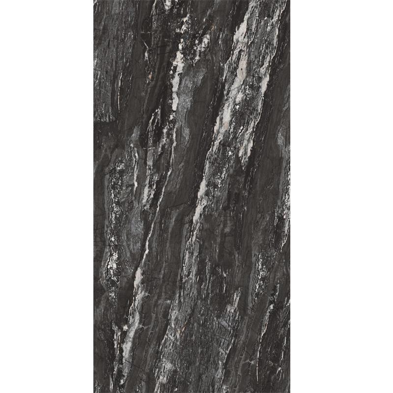 2020 New Design Black Color 1200x2400mm Floor Porcelain Tile Ceramic Wall Tile