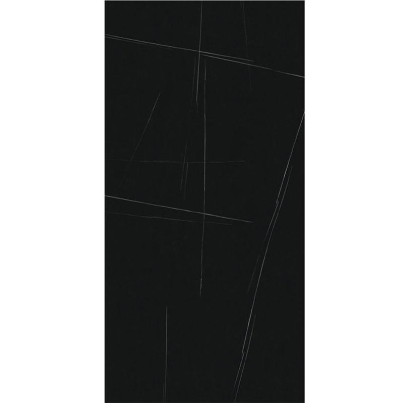 1600x3600MM Luxury Black Marble Look Porcelain Floor Big Slab Tiles
