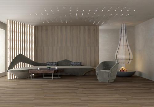 Mississippi pecans wood look floor tile FA12267