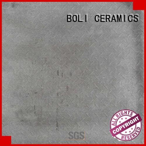 BOLI CERAMICS color concrete look tiles for wholesale for garden
