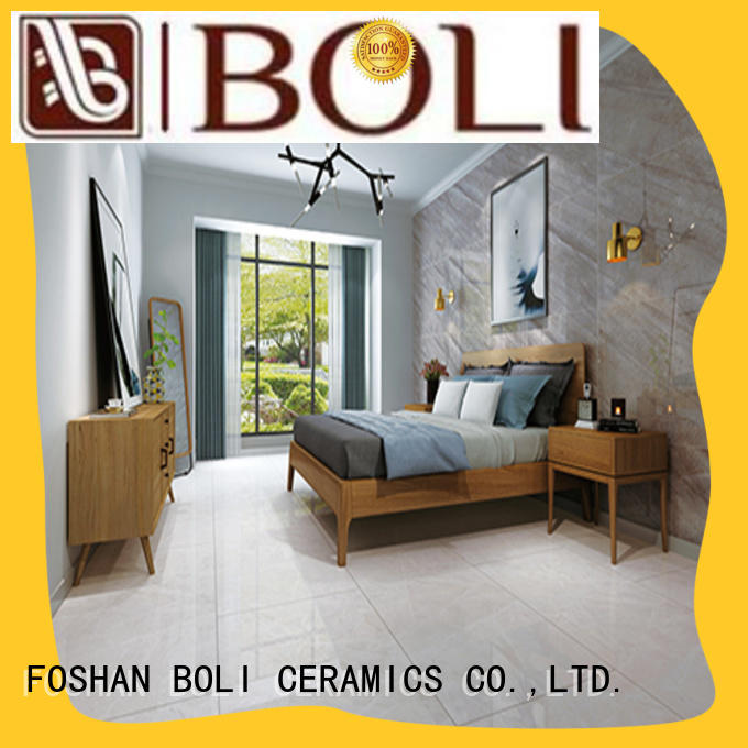 BOLI CERAMICS non-absorbent polished floor tiles supplier for relax zone